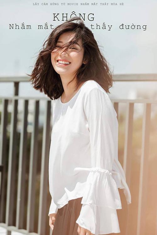 Hoàng Yến Chibi cười không thấy Mặt trời trong bộ ảnh đón hè.