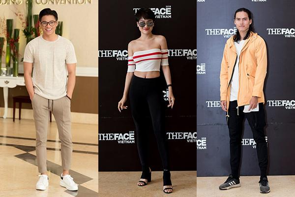 Nhiều thí sinh The Face 2018 từng thi Vietnams Next Top Model.