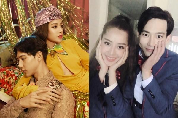 Hình ảnh thân thiết của Chi Pu và nam diễn viên Hàn.