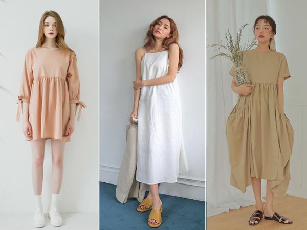 Mẫu váy hot nhất hiện nay có lẽ là kiểu váy hai dây và off-shoulder mát mẻ kết hợp với màu váy trắng hoặc họa tiết gingham càng tôn lên nét nữ tính của con gái. Dành cho những cô nàng thích style dễ thương thì còn có kiểu váy babydoll vừa che khuyết điểm trên người lại siêu đáng yêu. Với kiểu váy này, những đôi sandal quai ngang sẽ là sự lựa chọn hoàn hảo nhất cho các cô gái.