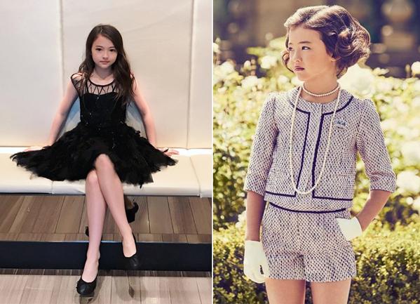 Ella Gross hiện đang là một trong những mẫu nhí đắt giá nhất của làng thời trang dù mới chỉ tròn 10 tuổi. Là con lai giữa hai dòng máu Mĩ và Hàn nên cô bé mang vẻ đẹp vừa tây vừa đậm chất Á Đông, nhờ vậy mà trang cá nhân trên Instagram của Ella đã chạm ngưỡng hơn nửa triệu lượt theo dõi. Hiện cô bé đang là model nhí cho nhiều hãng thời trang nổi tiếng như Zara, Tommy Hilfiger&