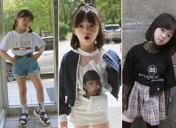 Tuy nhiên cô em lại có phần nghịch ngợm hơn và style thời trang cũng điệu đà hơn chị một chút.