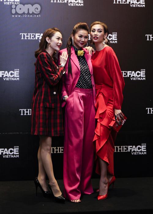 Ba HLV The Face mặc đồ chóe, thân thiết bên nhau - 7