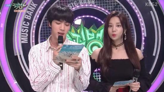 Jin đã giúp đã Sol Bin rất nhiều trong lần hợp tác.