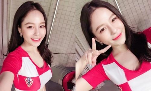 Dàn hot girl Việt gợi cảm cổ vũ cho World Cup 2018 - 8