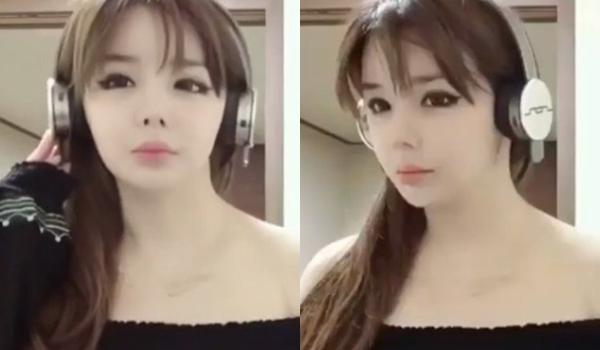 Park Bom lại bị chê mặt đơ, khác lạ.