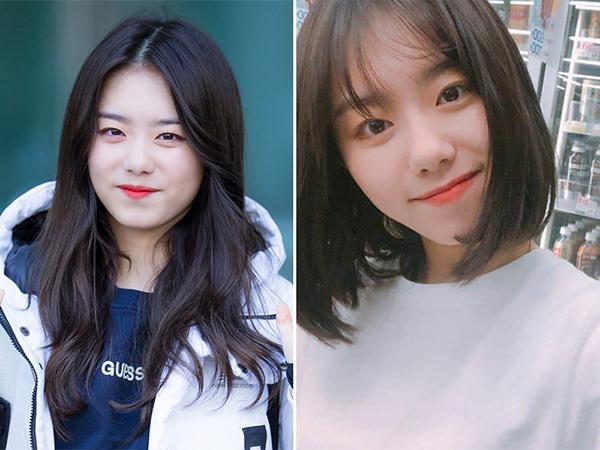 Trái với hình tượng ngơ ngác trước khi tham gia show thực tế, cô nàng Kim So Hye đã và đang tự tin hơn và chủ động thay đổi hình ảnh bản thân bằng kiểu tóc ngắn đơn giản. Điểm cộng cho mái tóc mới của cô nàng là ôm sát được mặt giúp cựu thành viên IOI che được khuyết điểm trên gương mặt bầu bĩnh.