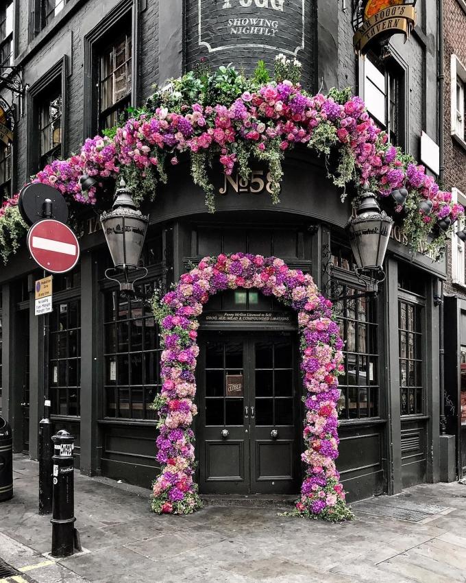 <p> Một ngôi nhà ở London, Anh.</p>