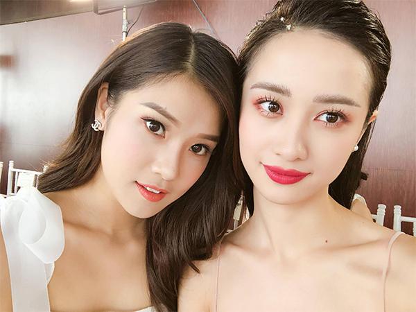 Hoàng Yến Chibi và Jun Vũ bị nghi yêu nhau vì thường xuyên khoe ảnh chụp chung rất tình cảm.