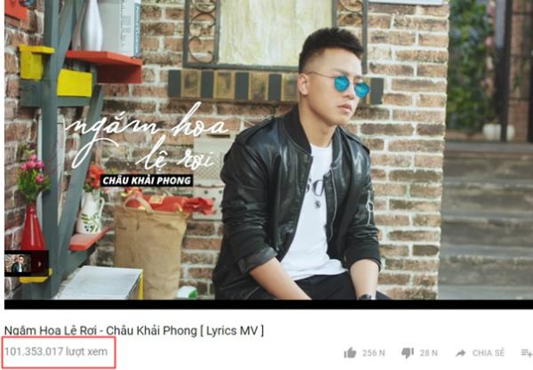 Ngắm hoa lệ rơi cán mốc 100 triệu view trên YouTube