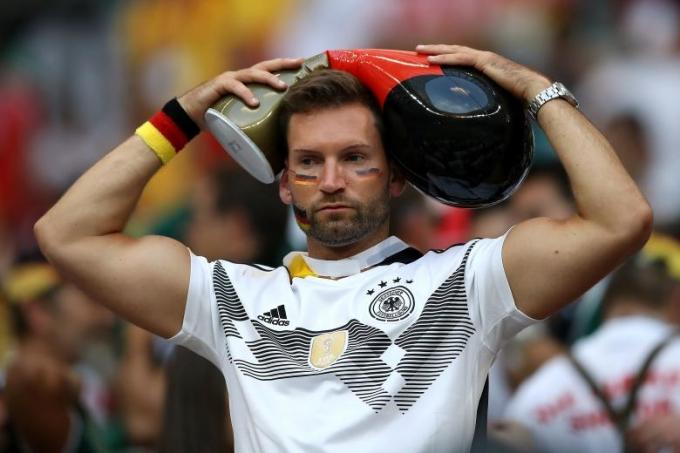 <p> Gục ngã trước Mexico, Đức khiến người hâm mộ nước nhà thất vọng.</p>