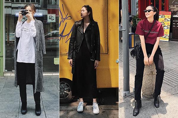 Phong cách của Diệu Linh khá giống với các hot girl Sài thành.