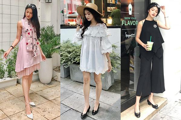Hot girl ưa chuộng các kiểu váy bánh bèo để tôn lên làn da trắng và vẻ kiêu sa của người mặc.