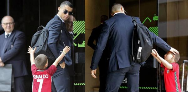 Những khoảnh khắc chứng minh Ronaldo đặc biệt quan tâm fan nhí - 2