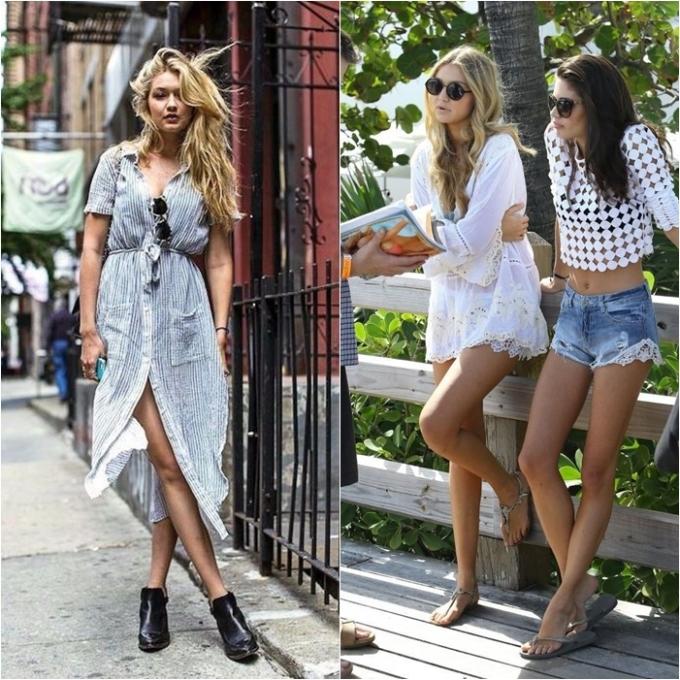 <p> Có thể thấy dù xuất hiện với phong cách nào thì Gigi Hadid cũng rất nổi bật. Người đẹp nổi tiếng chuộng những thiết kế thoải mái dễ di chuyển khi dạo phố cùng bạn bè.</p>