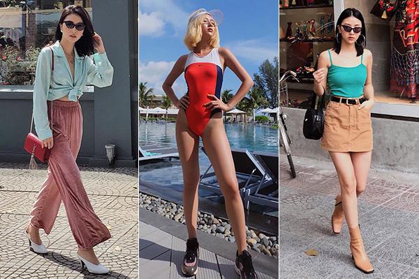 Nếu thường xuyên theo dõi phong cách của Quỳnh Anh Shyn, bạn sẽ thấy 1 năm gần đây cô nàng có sự thay đổi đáng kể. Từ khi Nam tiến, hot girl chuyển qua diện những món đồ vừa sang chảnh lại vừa cổ điển, mang đậm cảm hứng thập niên 90 giống các hot girl Hollywood.