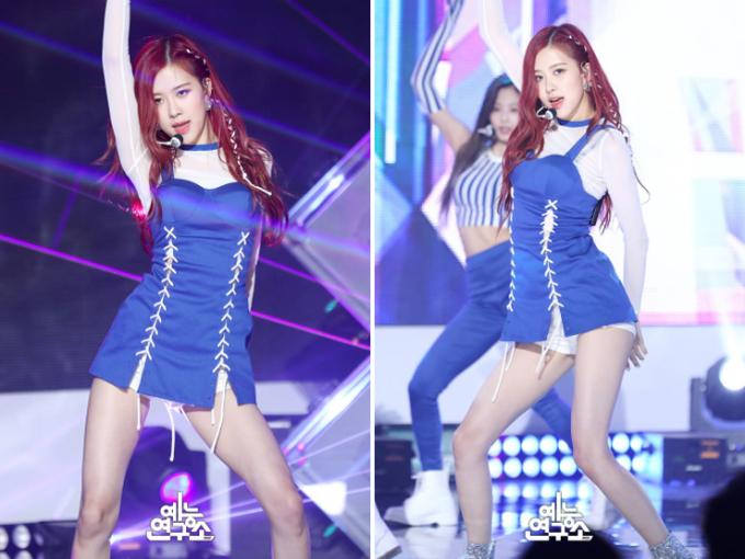 <p> Nhiều khán giả nhận xét Rosé có tỷ lệ thân hình đẹp nhất trong các idol nữ hiện nay.</p>