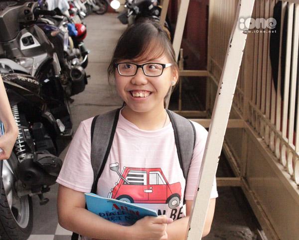 Nụ cười rạng rỡ của Phạm Thị Thu Thủy.