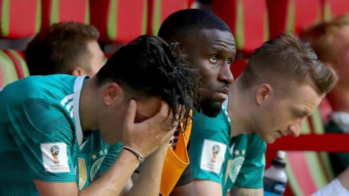 <p> Thất bại được mô tả là sự ô nhục lớn nhất trong lịch sử bóng đá Đức.</p>