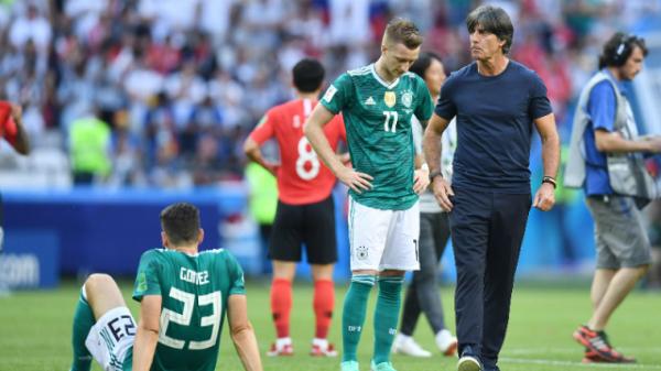 Đức thua đau trước Hàn Quốc.