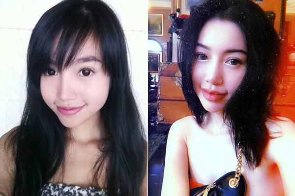 Sau chục năm vào showbiz, gương mặt của Elly Trần có nhiều đường nét thay đổi nhưng cô chưa một lần thừa nhận dao kéo.