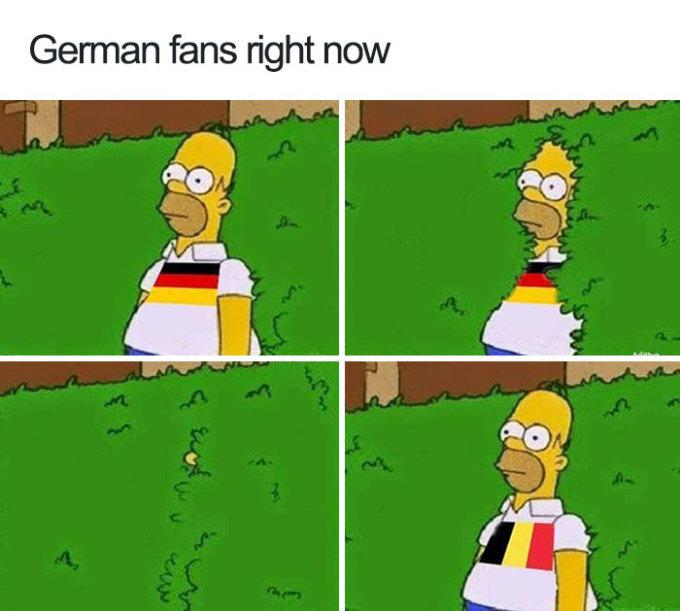 <p> Fan tuyển Đức lúc này...</p>