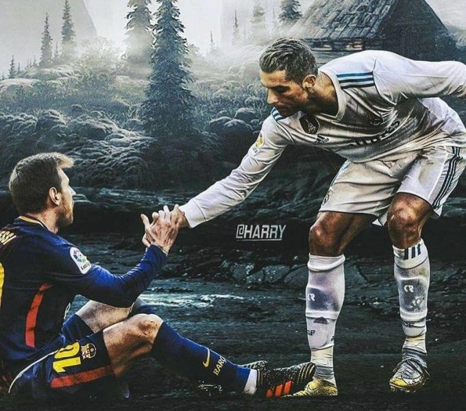 <p> Đứng dậy nào Messi, anh em ta sẽ làm lại tại Qatar 2022.</p>