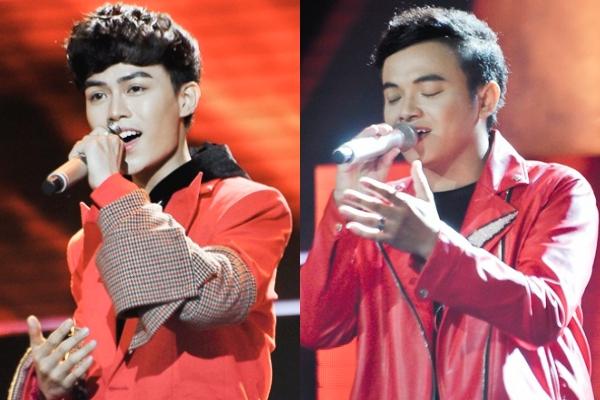 Hai thí sinh sở hữu ngoại hình điển trai, giọng hát cảm xúc