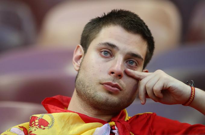 <p> Và người đàn ông này đã khóc...</p>