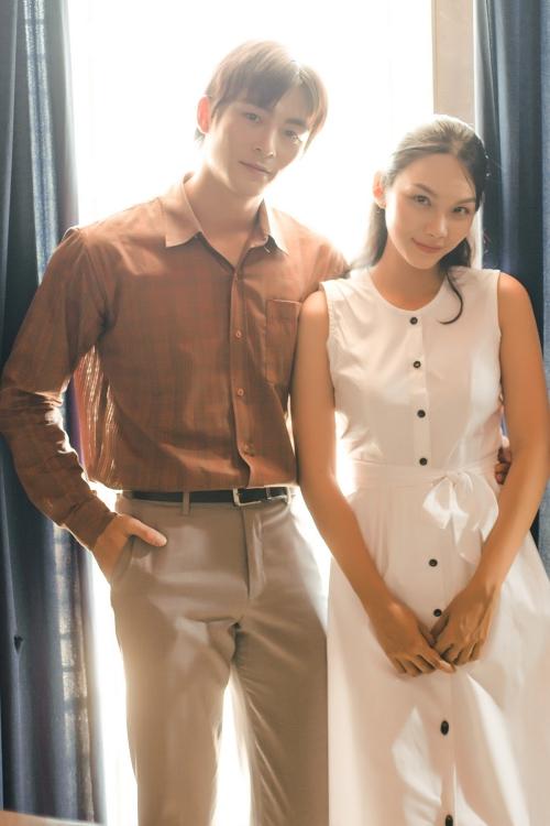 Lãnh Thanh có phần diễn xuất cảm xúc cùng với nữ diễn viên Thanh Tú.