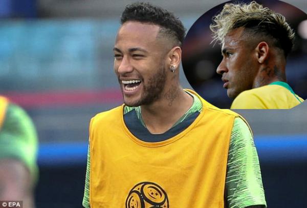 Mái tóc mỳ tôm của Neymar từng bị đem ra chế nhạo.