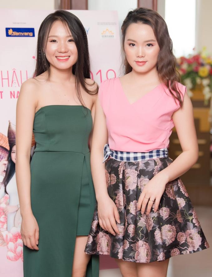 <p> Phạm Thị Hà (1998) và Phạm Thị Hoài (1994) là 2 chị em ruột cùng đăng ký tham dự Hoa hậu Việt Nam 2018. Cả 2 đều là thí sinh đến từ tỉnh Nghệ An.</p>