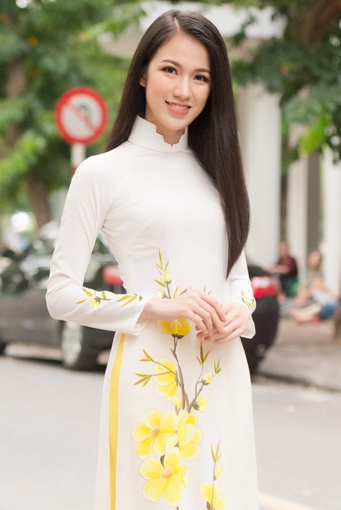 <p> Thí sinh Vũ Thị Tuyết Trang sinh năm 1994, từng lọt vào Top 15 Hoa hậu Hoàn Vũ Việt Nam 201. Cô hiện là biên tập viên của VTV, đã tốt nghiệp Đại học Ngoại thương.</p>