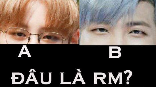 Nhìn mắt phân biệt các thành viên BTS