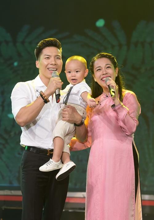 Quốc Nghiệp và con trai song kiếm hợp bích khiến khán giả thót tim