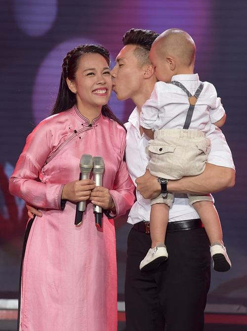 Quốc Nghiệp và con trai song kiếm hợp bích khiến khán giả thót tim  - 5