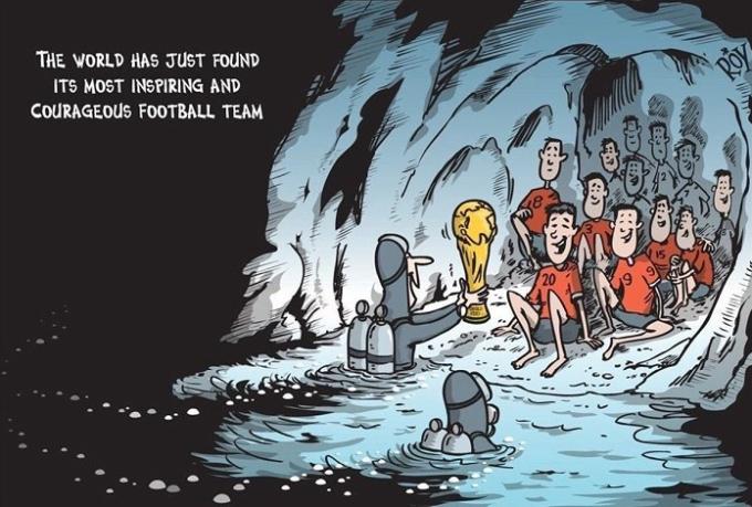 <p> Trong mùa World Cup năm nay, Cúp vàng cho danh hiệu cầu thủ dũng cảm nhất đã tìm thấy chủ nhân đích thực.<br /> </p>