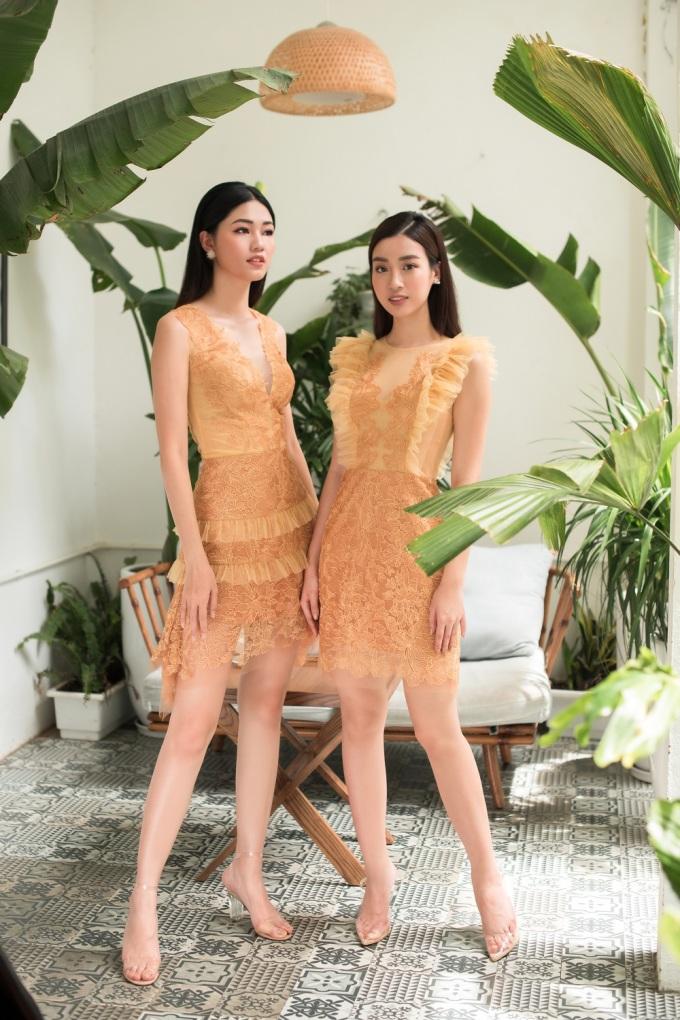 <p> Từ sau đăng quang những ngôi vị cao nhất cuộc thi Hoa hậu Việt Nam 2016, Mỹ Linh - Thanh Tú luôn gắn bó thân thiết trong nhiều hoạt động. Cả hai vừa thực hiện bộ ảnh mới khoe vẻ nhẹ nhàng trong những chiếc váy ren của NTK Amy.</p>