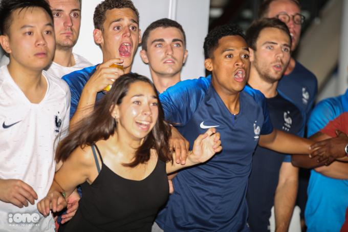 <p> Những gương mặt hào hứng trước một cơ hội của tuyển Pháp...</p>