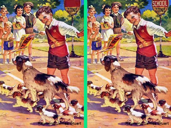 30 giây nhanh mắt tìm điểm khác biệt trong loạt tranh dễ thương - 3