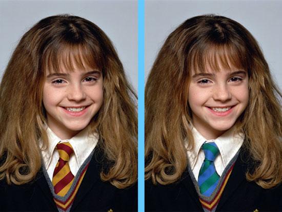 Căng mắt tìm điểm khác lạ của Emma Watson - 3
