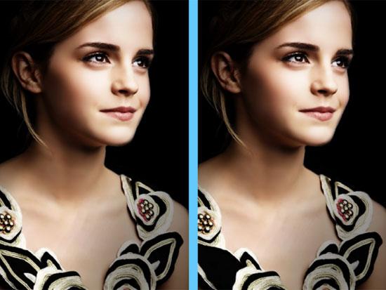 Căng mắt tìm điểm khác lạ của Emma Watson - 4
