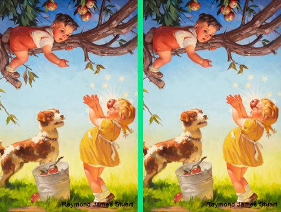 30 giây nhanh mắt tìm điểm khác biệt trong loạt tranh dễ thương - 5