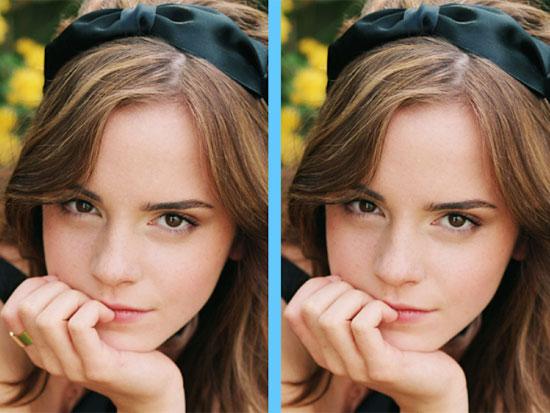 Căng mắt tìm điểm khác lạ của Emma Watson - 7