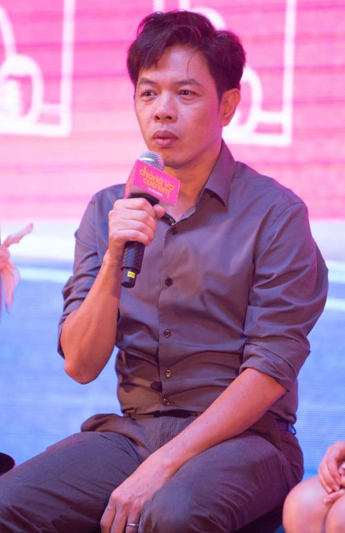 Thái Hòa tiết lộ về hậu trường phim Chàng vợ của em.