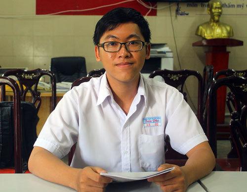 Nguyễn Trần Công Đạt. Ảnh:Lê Nam.