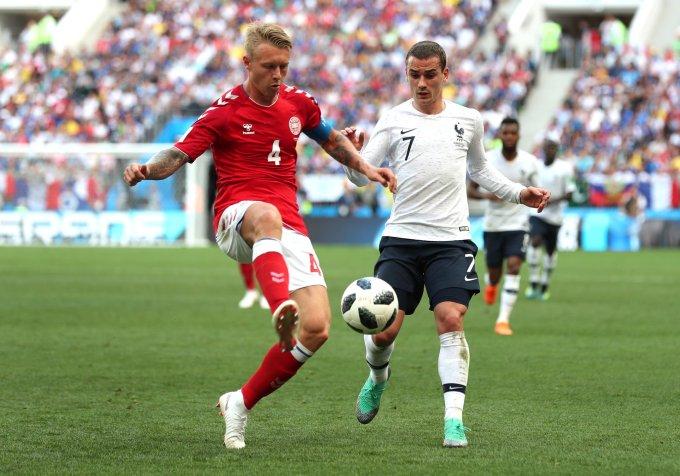 <p> Vì đã sớm giành vé đi tiếp, Pháp cùng Đan Mạch mang đến trận cầu tẻ nhạt nhất của World Cup 2018. Đây cũng là trận đấu duy nhất không có bàn thắng sau 62 trận đấu tại ngày hội bóng đá trên đất Nga lần này.</p>