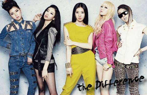 5 thành viên Brave Girls hồi mới debut.