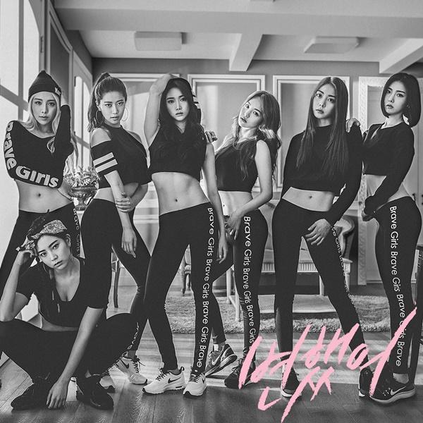 Thời đông dân nhất, Brave Girls có 7 thành viên.