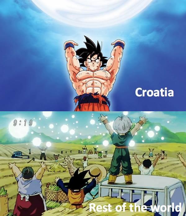 """<p> Croatia trước kia thuộc vương quốc Nam Tư cũ. Trong lịch sử, Nam Tư cũng là cái tên """"có số má"""" trên bản đồ bóng đá thế giới ngày trước.</p>"""